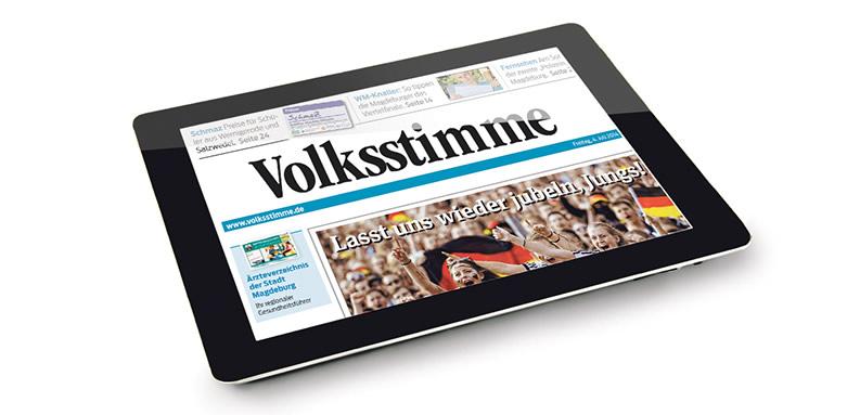 Die Mediengruppe Magdeburg entscheidet sich für den Einsatz von dialogcrm