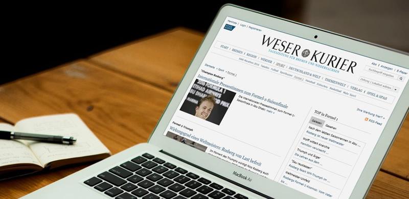 Die WESER-KURIER Mediengruppe entscheidet sich für den Einsatz von dialogcrm